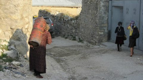 Женщины в селе Анди, Дагестан/ Фото: Алексей Мочалов