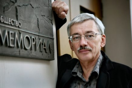 Олег Орлов, Фото Анна Артемьева/Новая газета