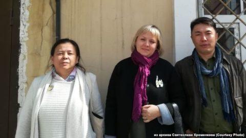 Иркутские правозащитники на пикете