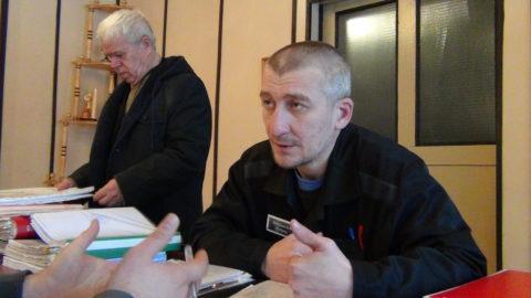 Посещение политзаключенного Игоря Матвеева