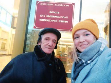 На фото Сергей Прудовский и Марина Агальцова