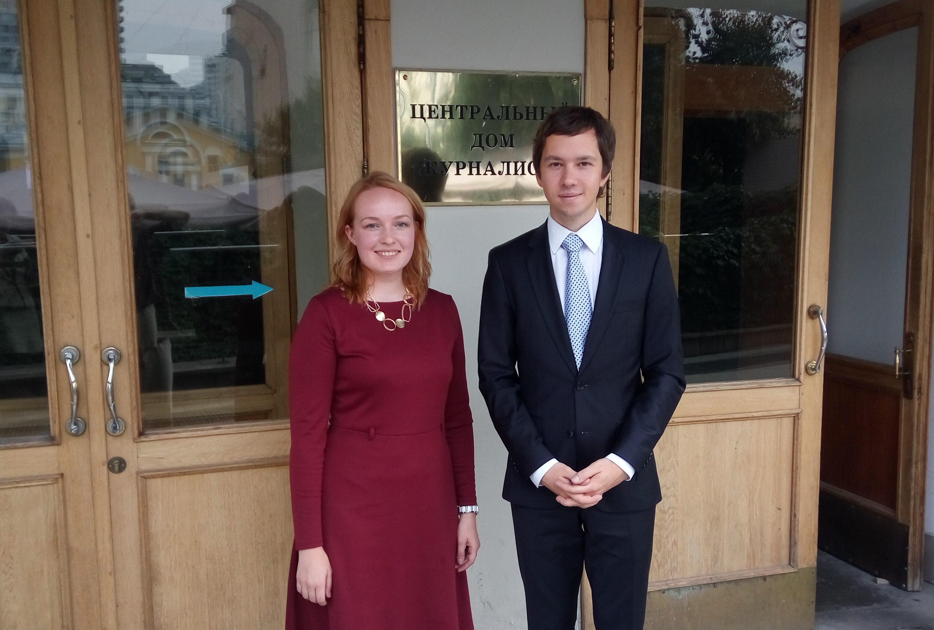Марина Агальцова и Григорий Вайпан