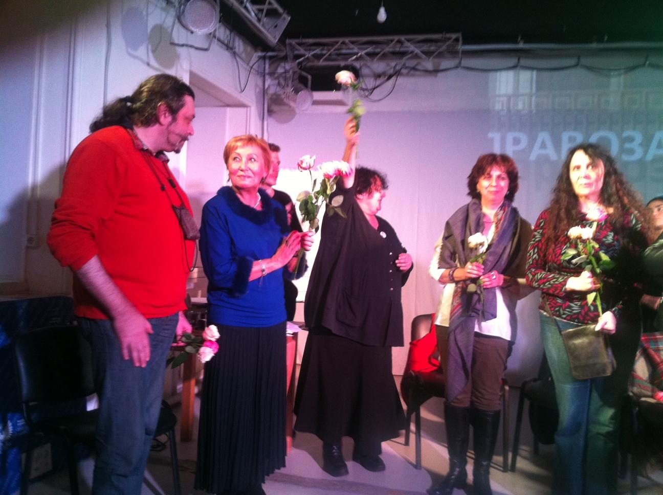 Спектакль «Правозащитники» в Театр.Doc