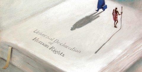 Выставка «Карикатуристы за права человека»