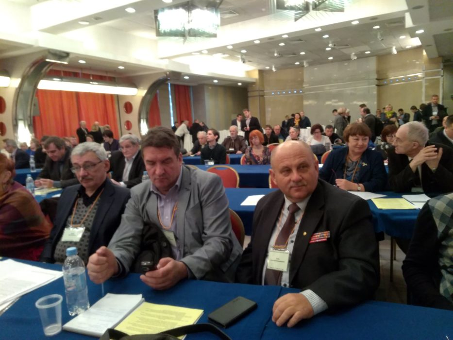 На фото слева направо: Олег Орлов, Сергей Кривенко, Анатолий Салин