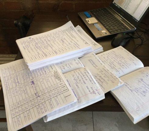 Выписка из архивных документов. Фото предоставлено Сергеем Прудовским
